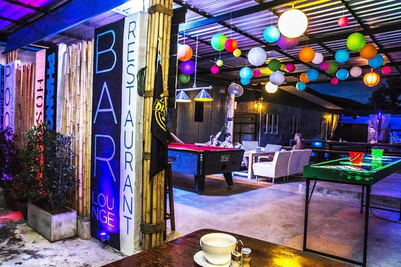 Get the party started at Phanganist Hostel Bar