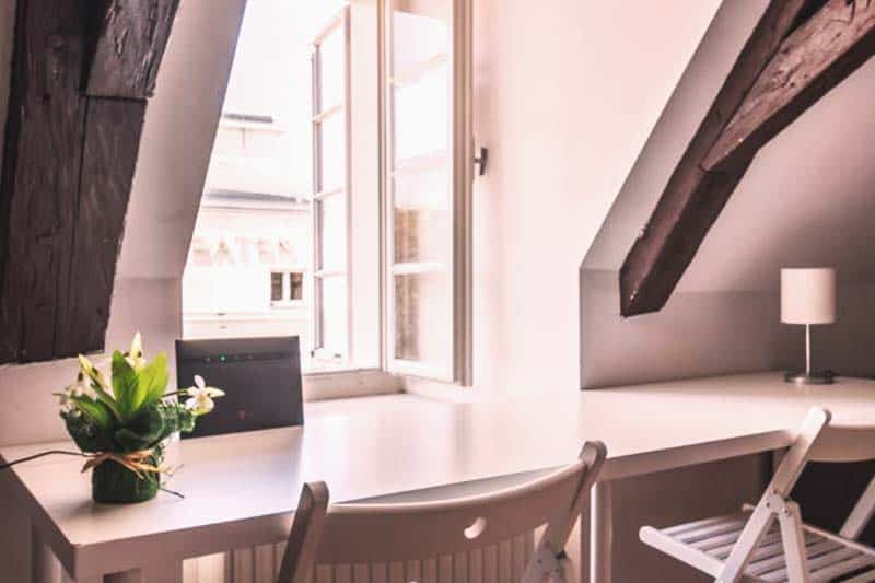 Have a nice window view at Sishaus - View at Mozarts