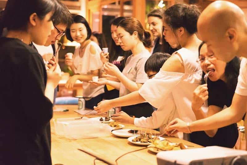 Join cooking classes at Star Hostel Taipei Main Station