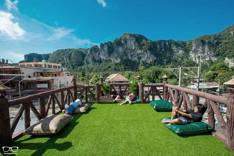 Stayover Hostel is one of the best party hostels in Krabi, Thailand