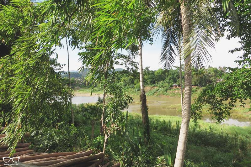 Sunrise Riverside Pool Hostel is one of the best hostels in Luang Prabang for Solo Travellers, Laos