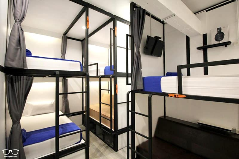 Surf Hostel is one of the best hostels in Krabi, Thailand