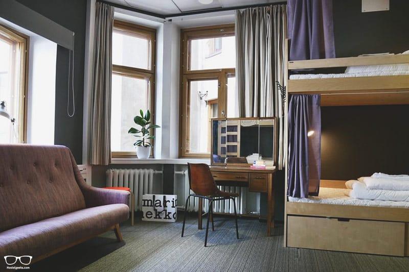 The Yard Hostel is one of the best hostels in Helsinki and the only 5 Star Hostel in Helsinki, Finland