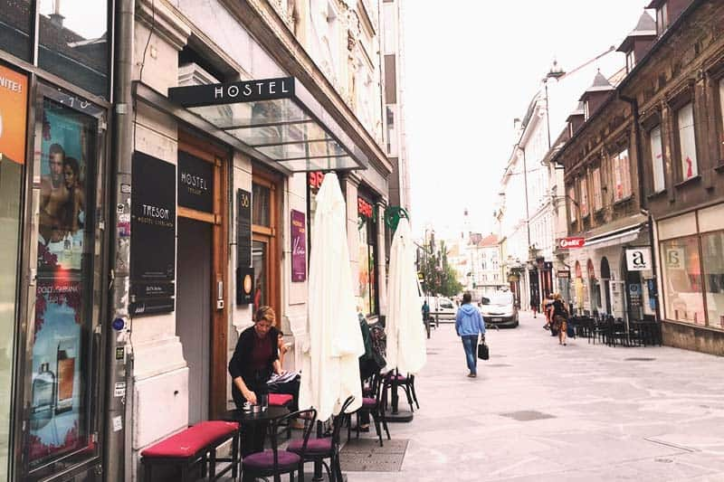 Other bars and cafes are just around Tresor Hostel
