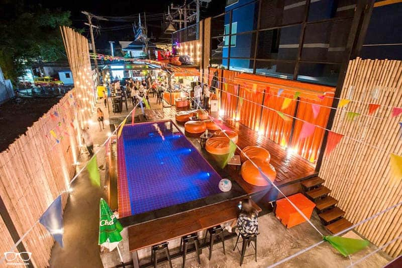 Ubox Hostel is one of the best party hostels in Koh Samui, Thailand