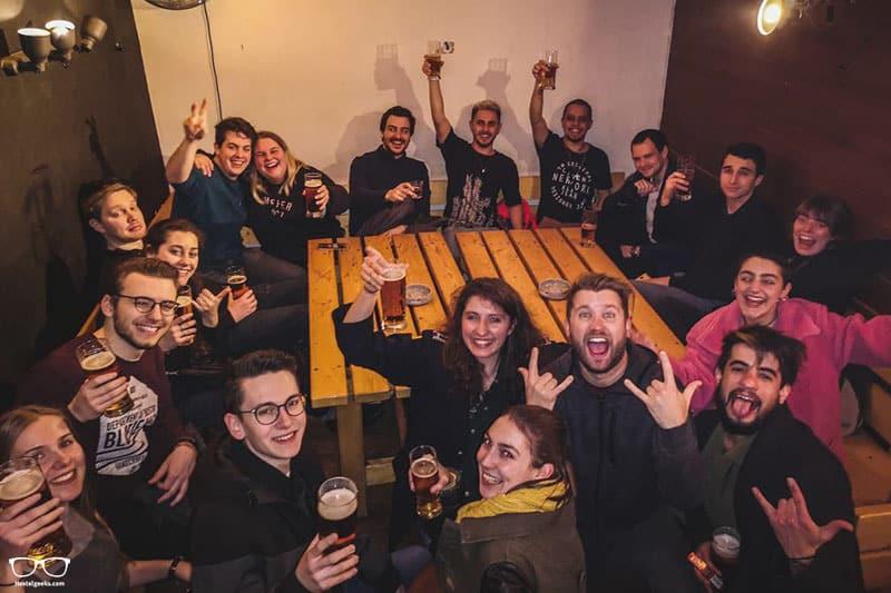 Wild Elephants Hostel is one of the best party hostels in Bratislava, Slovakia