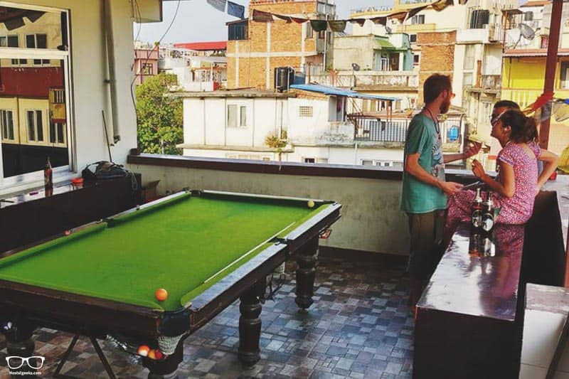 Yog Hostel is one of the best hostel in Kathmandu, Nepal
