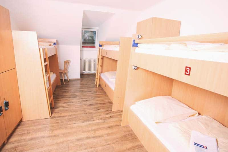 Have a good night sleep with comfy beds at Yoho International Youth Hostel