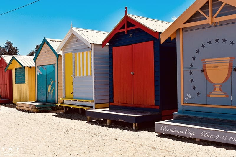 Walking along Brighton Beach is one of the fun things to do in Melbourne, Australia