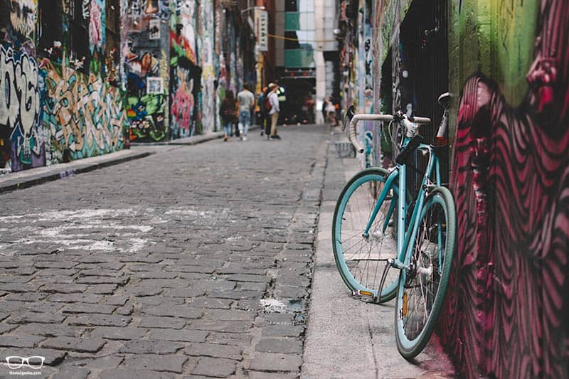 Exploring by a City Bike is one of the fun things to do in Melbourne, Australia