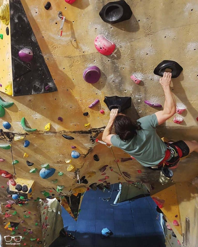 Hardrock Climbing is one of the fun things to do in Melbourne, Australia