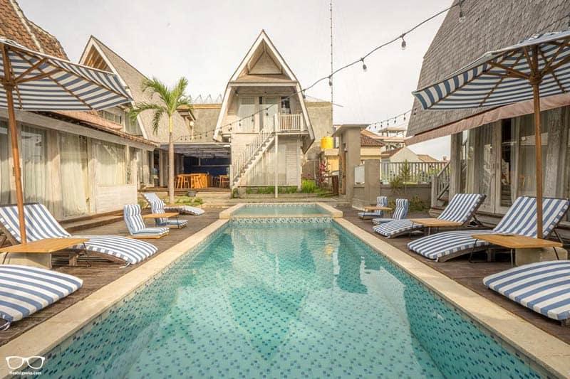Kamaran Hostel is one of the best hostels in Canggu, Indonesia