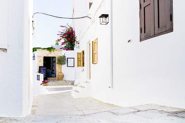 Streets of Lindos
