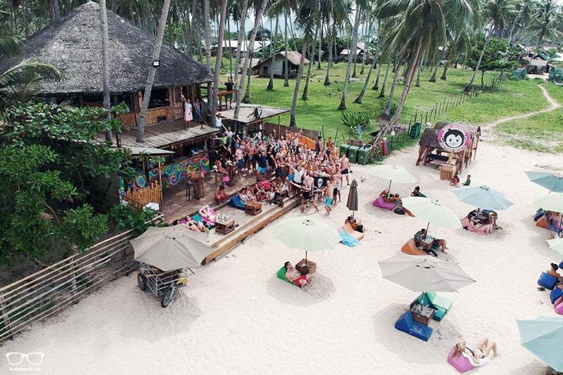 Mad Monkey Hostel Nacpan Beach is one of the best party hostels in El Nido, Philippines