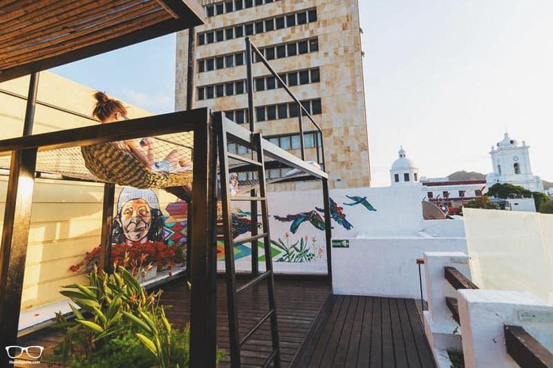 Masaya Hostel Santa Marta is one of the best party hostels in Santa Marta, Colombia