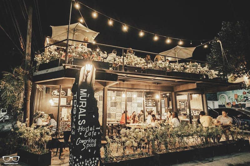 Murals Hostel and Cafe is one of the best hostels in the Philippines