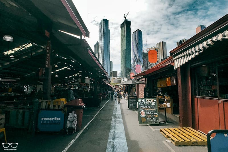Queen Victoria Market is one of the fun things to do in Melbourne, Australia