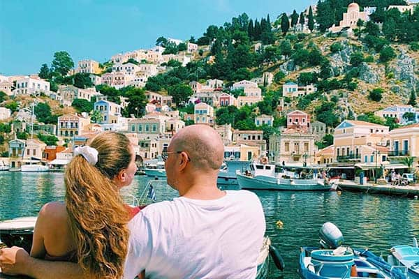 A lovely day trip, Symi