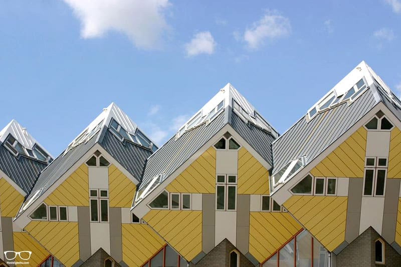 StayOkay Rotterdam Cube Hostel is one of the best hostels in Rotterdam, Netherlands