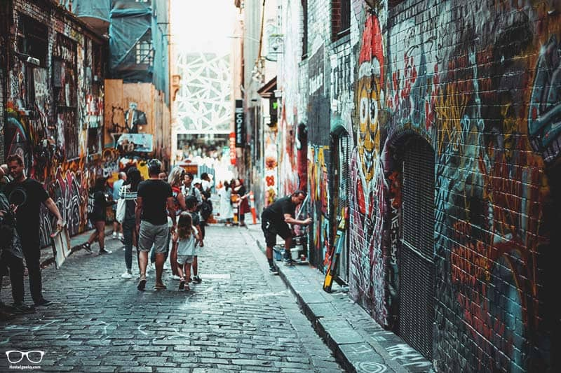 Street Art Tours is one of the fun things to do in Melbourne, Australia