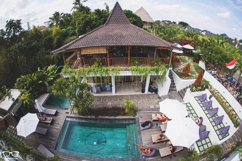 The Farm Hostel is one of the best hostels in Canggu, Indonesia