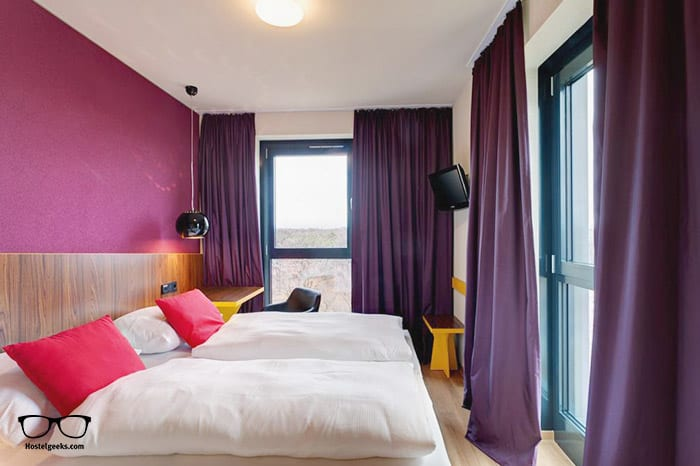 MEININGER Hotel Frankfurt/Main Airport is one of the best hostels in Germany, Europe