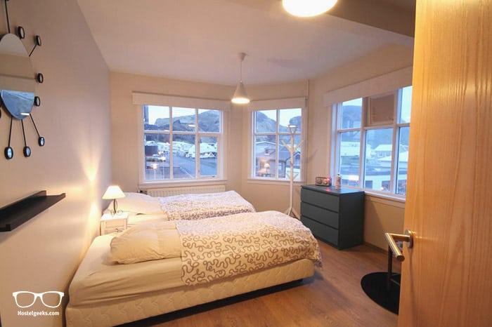 Aska Hostel in Vestmannaeyjar is one of the best hostels in Iceland, Europe