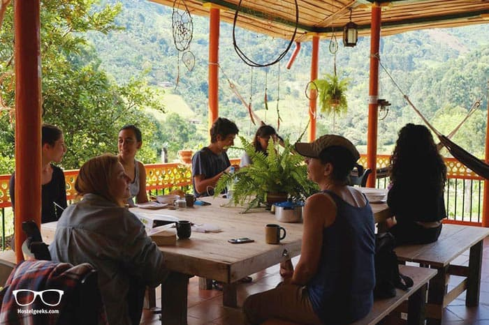 Ayahuasca Casa Artistica is one of the best hostels in Colombia, South America
