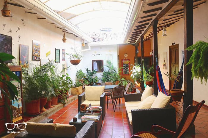 Bacaregua Hostel is one of the best hostels in Colombia, South America