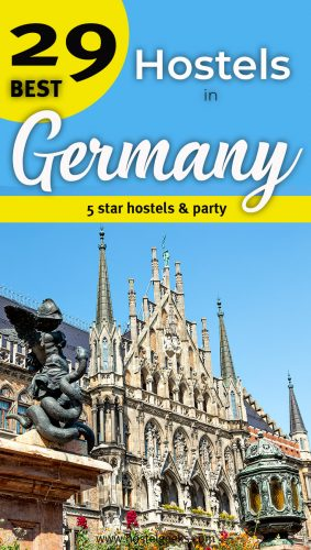 The complete guide and overview to the Best Hostels in Germany, Europe for solo travellers and backpackers