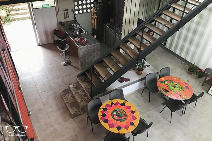 Biohaus Hostel Cafe is one of the best hostels in Colombia, South America