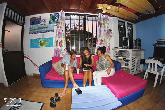 Blue Almond Hostel is one of the best hostels in Colombia, South America