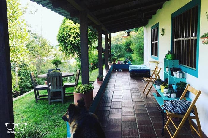Casa de Campo Santa Elena is one of the best hostels in Colombia, South America