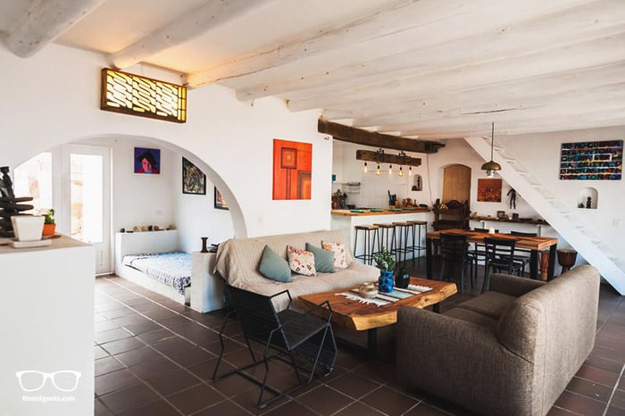 Casa Mediterranea Villa de Leyva is one of the best hostels in Colombia, South America