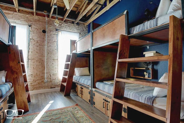 Deep Ellum Hostel is one of the best hostels in USA, North America