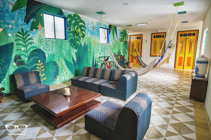 Golden Frog Mountain Hostel is one of the best hostels in Colombia, South America