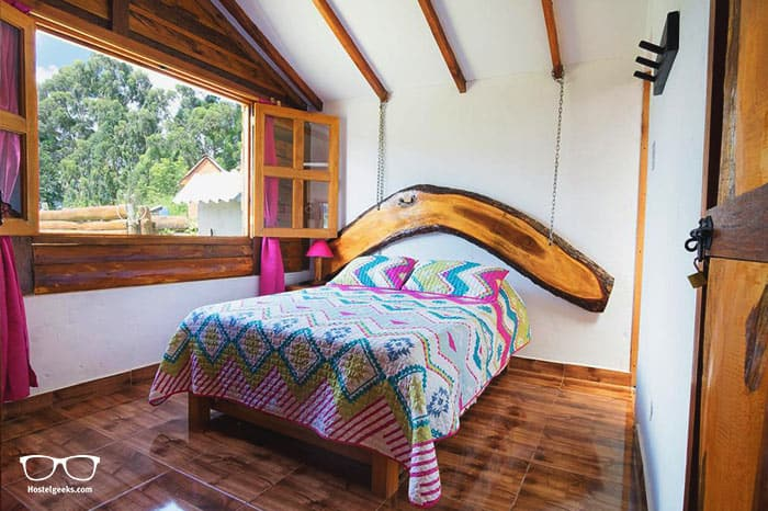 Hostal Vista Hermosa Salento is one of the best hostels in Colombia, South America