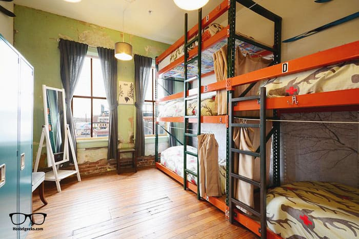 Hostel Fish is one of the best hostels in USA, North America