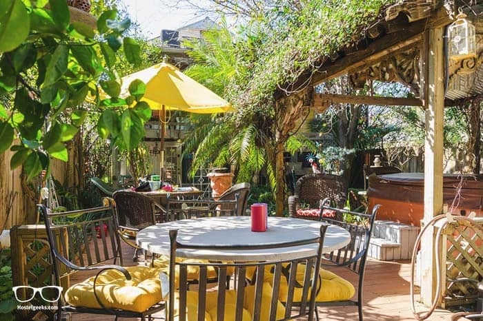 Madame Isabelle's House is one of the best hostel in USA, North America