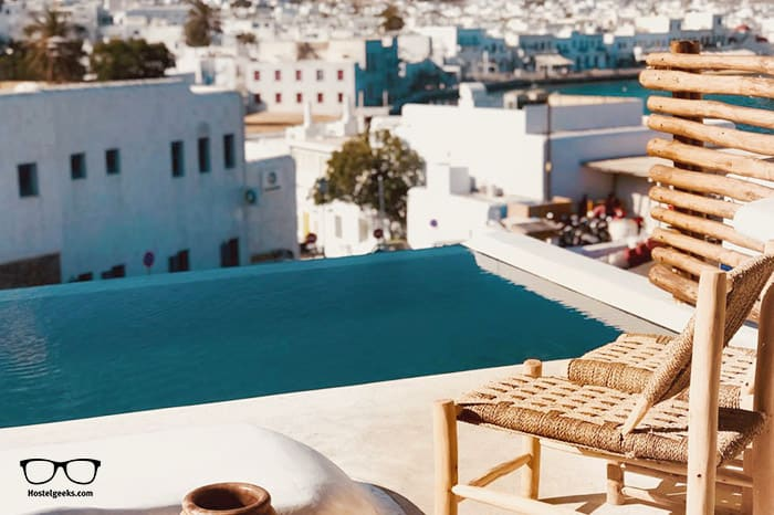 MyCocoon Hostel Mykonos is a stunning design 5 Star Hostel in Greece, Europe