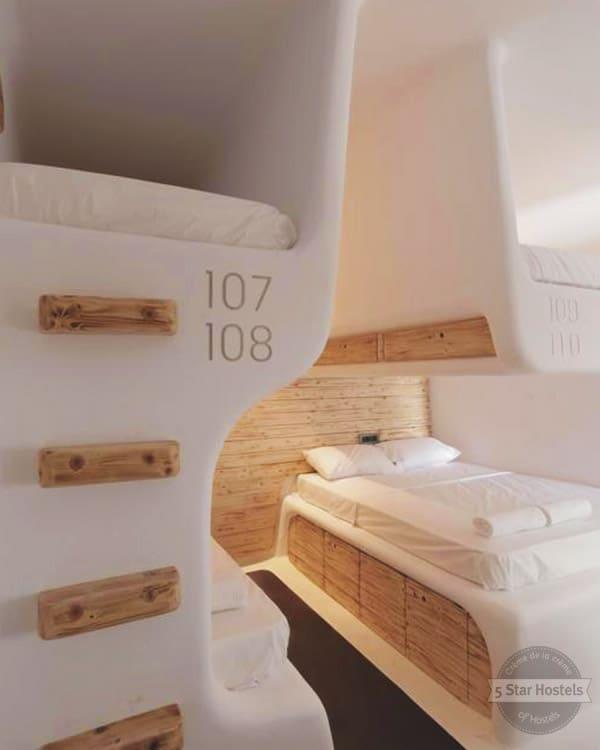 MyCocoon Hostel Mykonos is a stunning design 5 Star Hostel in Greece, Europe
