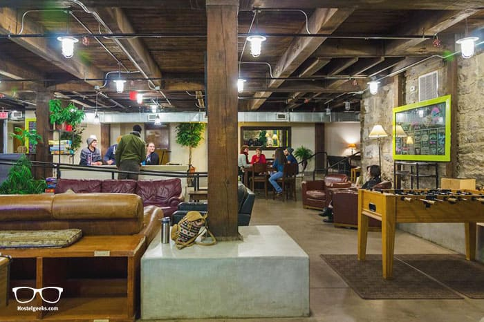 Nashville Downtown Hostel is one of the best hostel in USA, North America