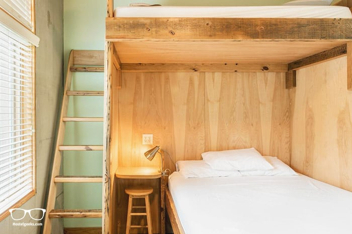 The Crash Pad: An Uncommon Hostel is one of the best hostel in USA, North America