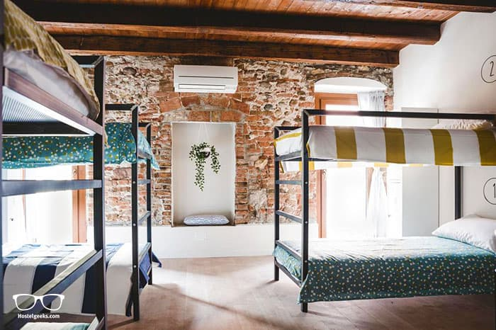 The Hostello, our one and only 5 Star Hostel in Verona, is a beautiful design hostel