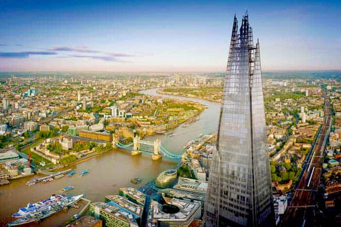 Go up the Talles Building - The Shard