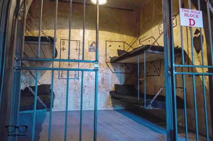 Alcatraz Jail-Hostel is one of the best hostels in Tbilisi, Georgia