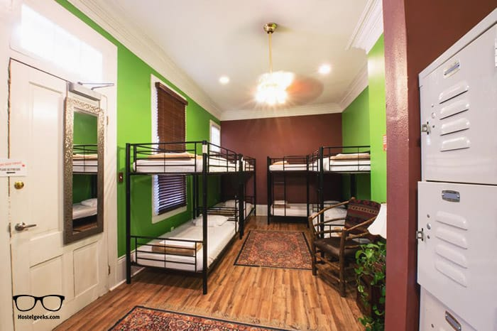 Auberge NOLA Hostel is one of the best hostels in New Orleans, Louisiana, USA
