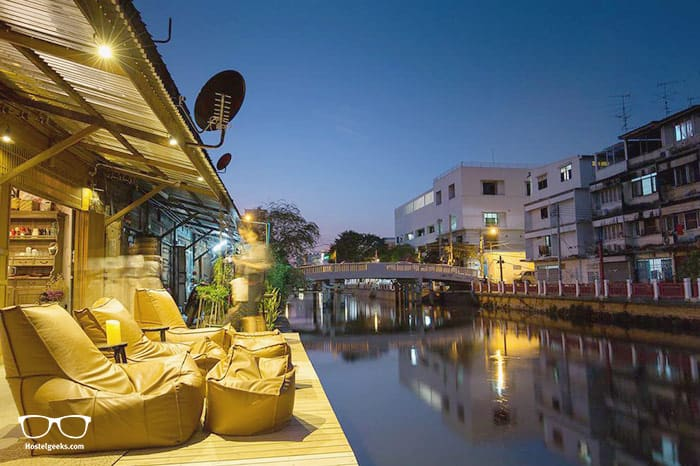 Canale Hostel Khaosan is one of the best hostels in Bangkok, Thailand