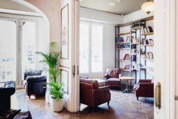 Casa Gracia Barcelona is a beautiful 5 Star Hostel in Barcelona, Spain for solo travellers