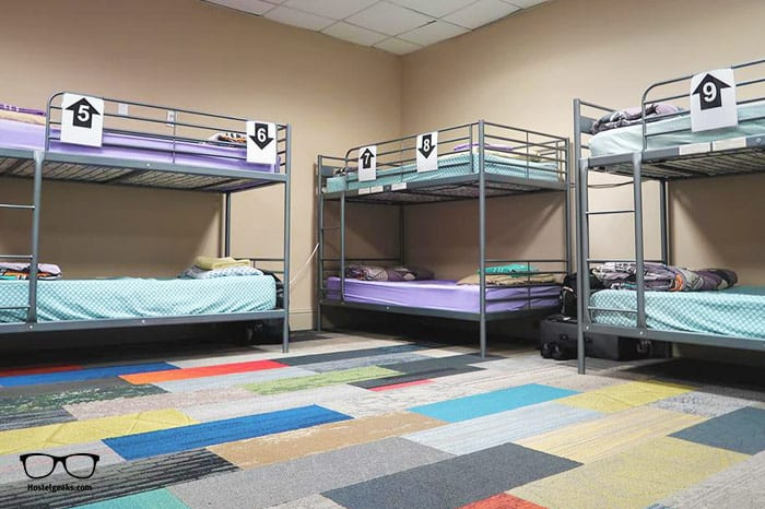 City House Hostel is one of the best party hostels in New Orleans, USA